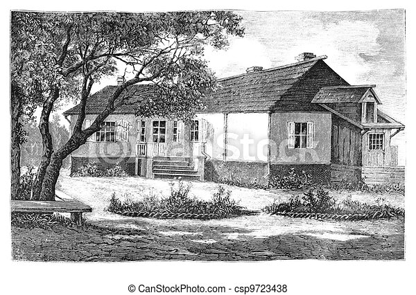 dwelling house - csp9723438