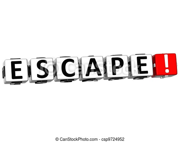 3D Escape Crossword - csp9724952