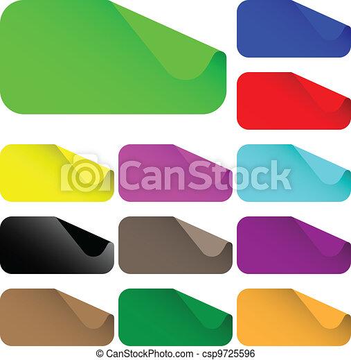 labels rectangle - csp9725596