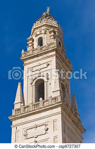 Cathedral Belltower. Lecce. Puglia. Italy. - csp9727307