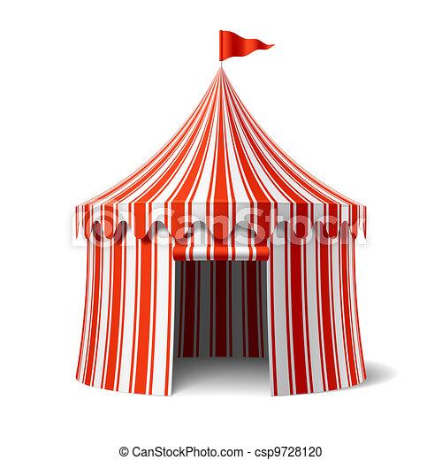 Circus tent - csp9728120