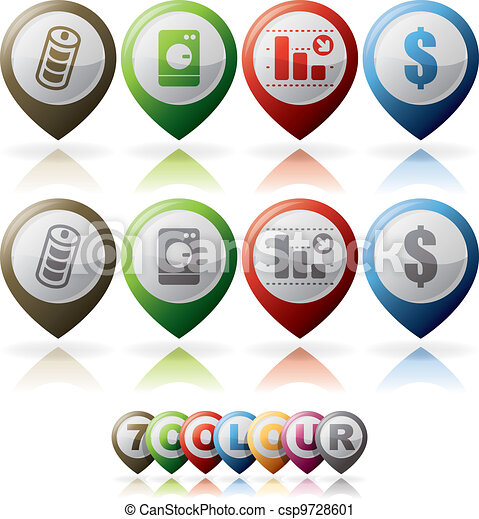 Misc Internet Icons - csp9728601