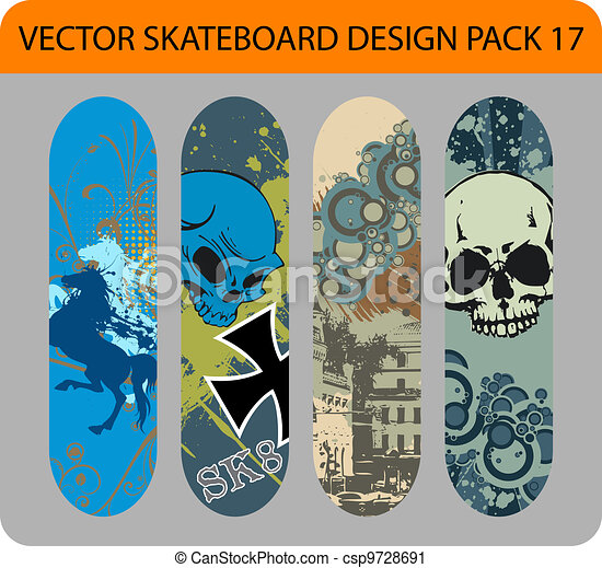 how to put graphics on a skateboard