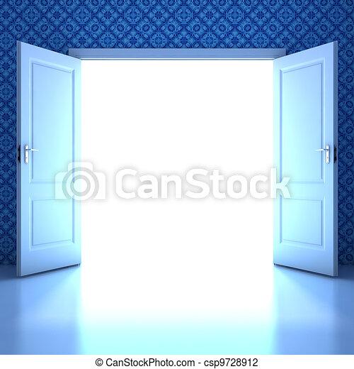 Empty room - csp9728912