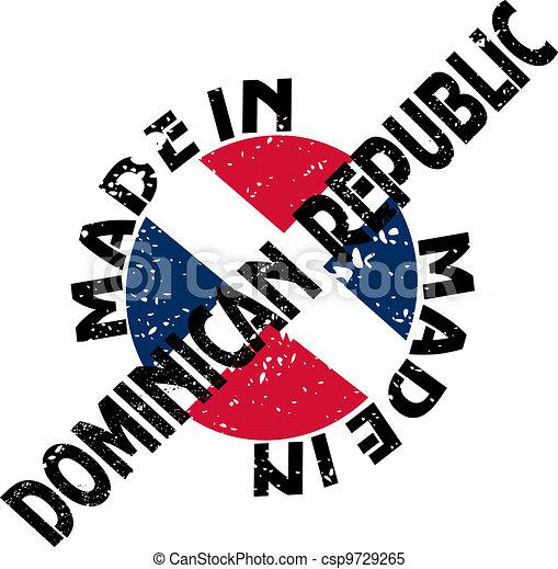 Made in Dominican Republic - csp9729265