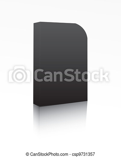 Black software box - csp9731357