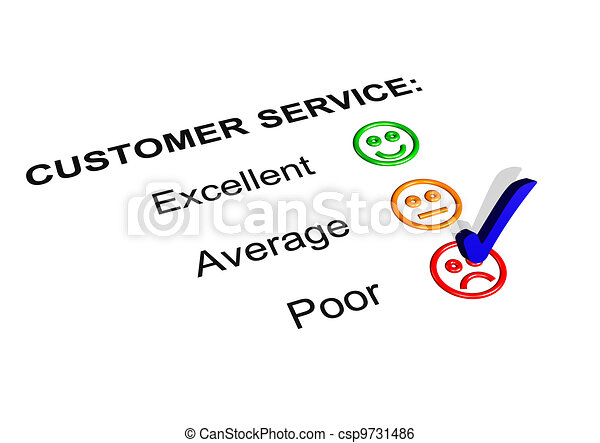 Stock Illustration Of Feedback Form Showing An Excellent Rating
