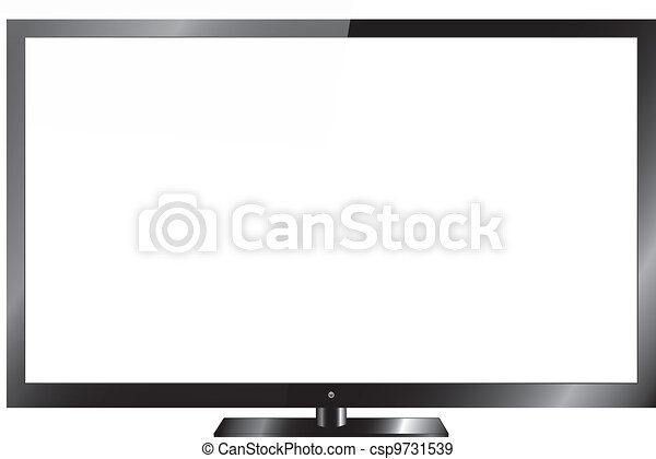 Silver Led or Lcd TV - csp9731539