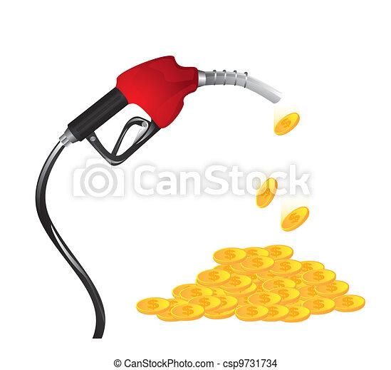 Gasoline fuel nozzle - csp9731734