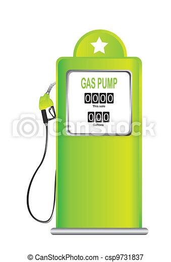 gas pump - csp9731837