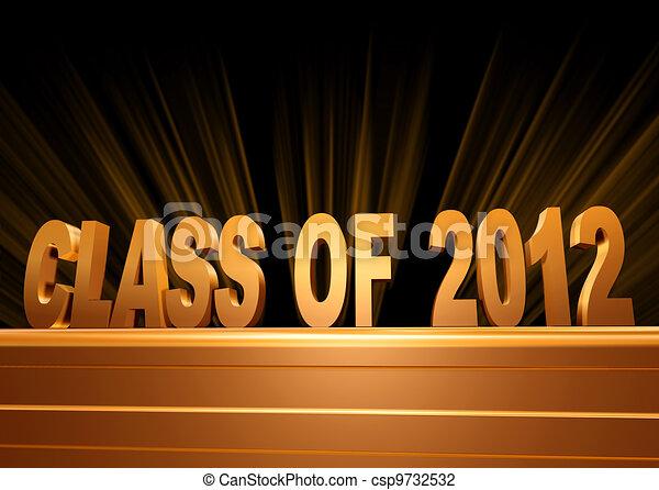 Class of 2012 - csp9732532
