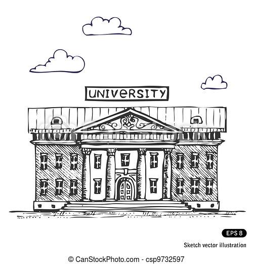 University building - csp9732597