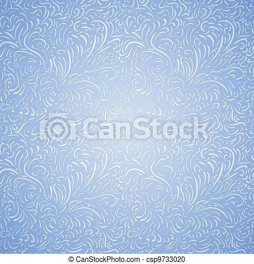Seamless frost decor pattern - csp9733020