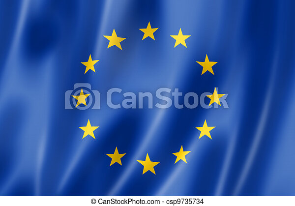 European union flag - csp9735734