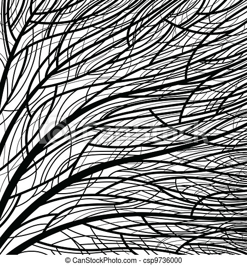 stylized tree - csp9736000