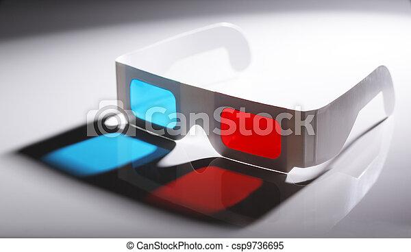 3D Glasses - csp9736695