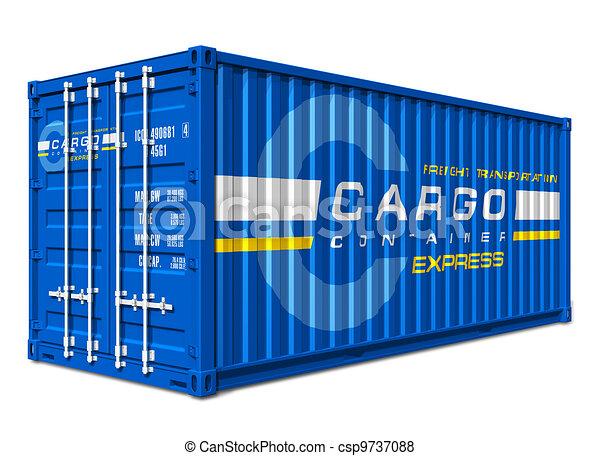 Cargo container - csp9737088