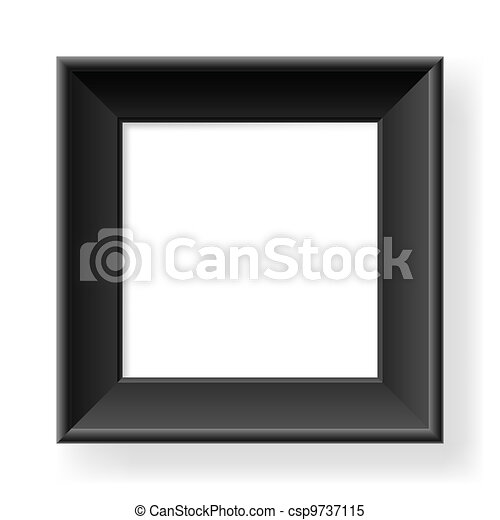 Realistic black frame - csp9737115