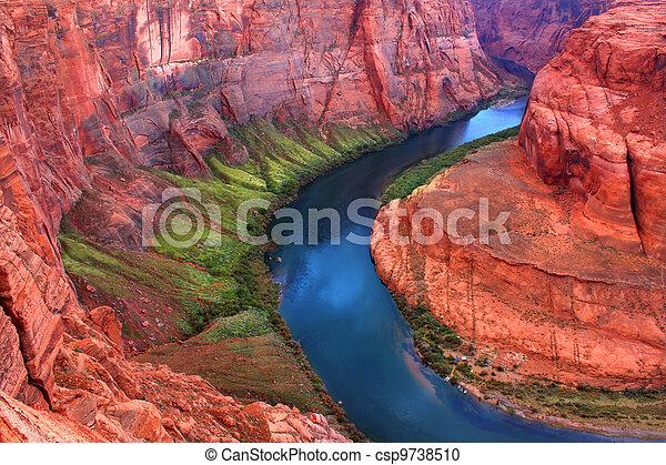 Colorado River Bends - csp9738510