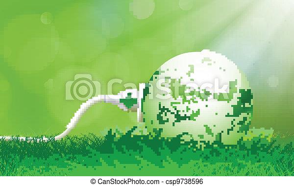 Green Energy Plug  - csp9738596