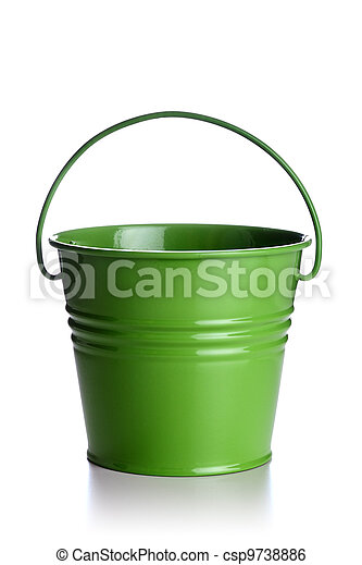 green bucket - csp9738886