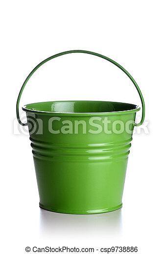 green bucket - csp9738886