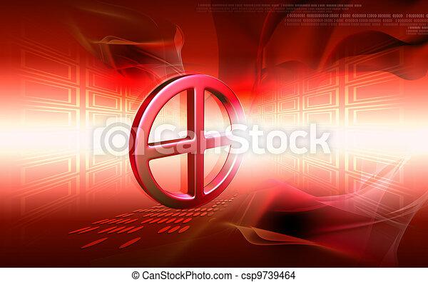 Clinical symbol - csp9739464
