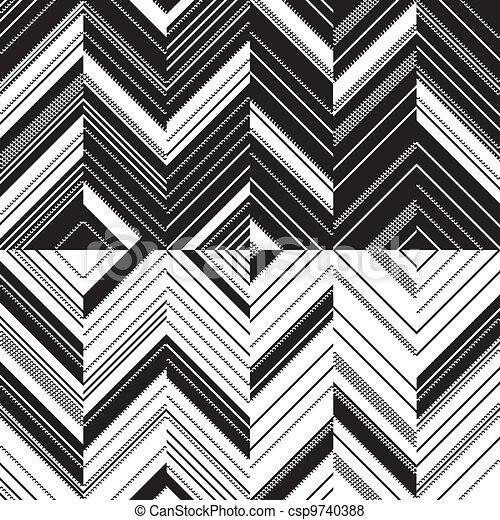 Vecteur de mod le zigzag miroir mod le zigzag dans for Miroir zigzag