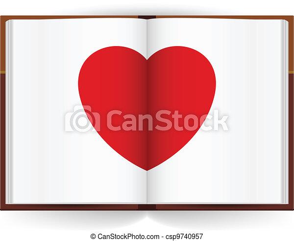 Open book - csp9740957