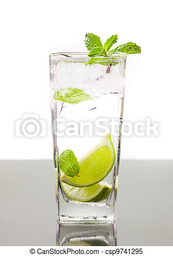 Cold alcoholic drink - csp9741295