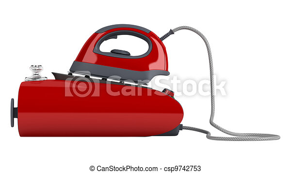 Professional central steam iron - csp9742753