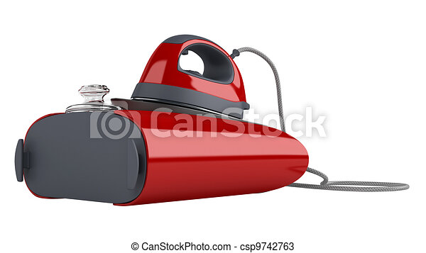 Professional central steam iron - csp9742763