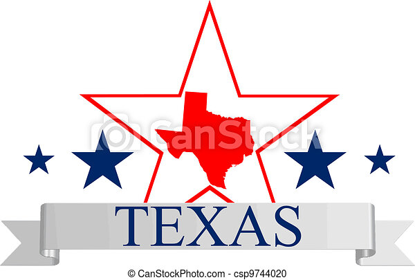 Texas star - csp9744020