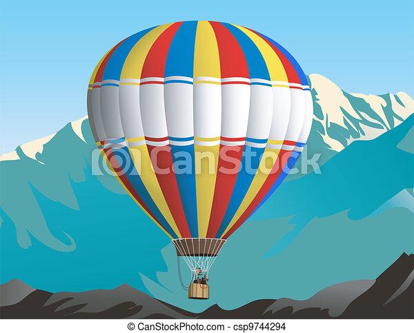 Air balloon trip - csp9744294