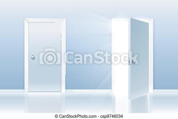 Door of opportunity - csp9746034