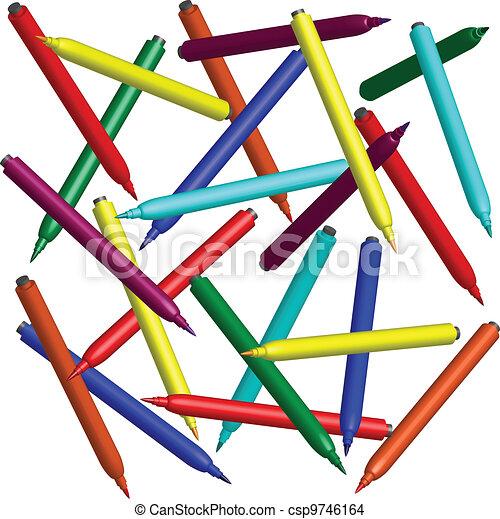 felt pen - csp9746164