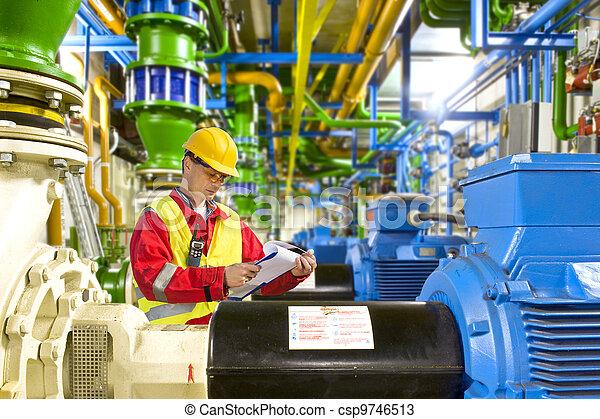 Engine room maintenance - csp9746513