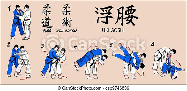 Martial Art Technique - csp9746836
