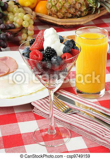 Nutritious breakfast - csp9749159