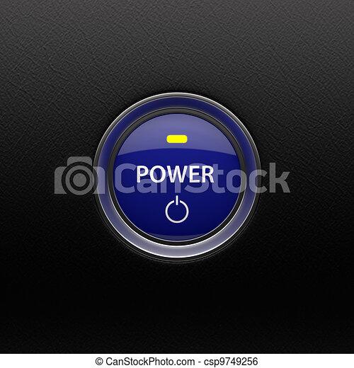 Power button - csp9749256