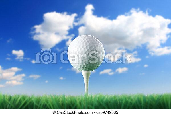 golf ball - csp9749585