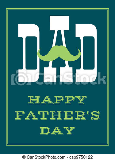 Father's Day Card - csp9750122
