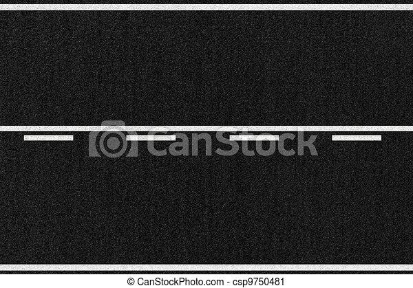 European Road Asphalt Texture - csp9750481