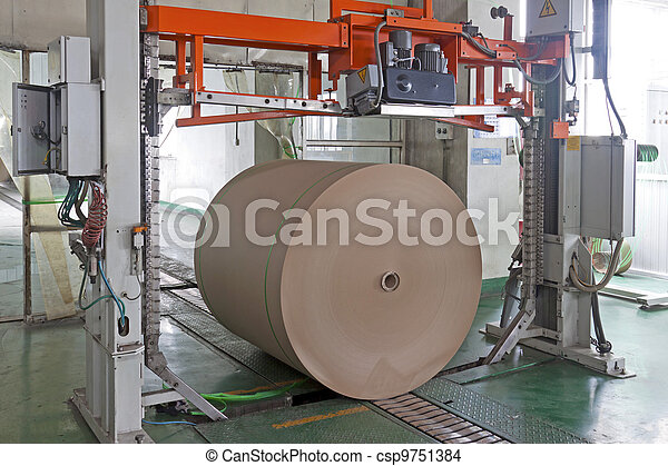 paper enterprise production line - csp9751384