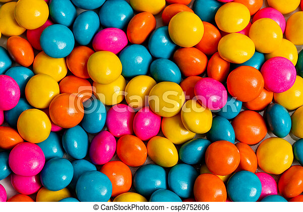 Colored candy - csp9752606