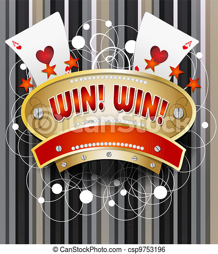 Gamble emblem - csp9753196