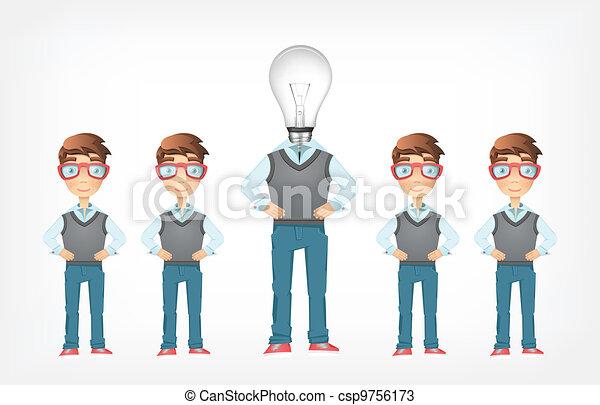 Social Network. Vector EPS 10. - csp9756173