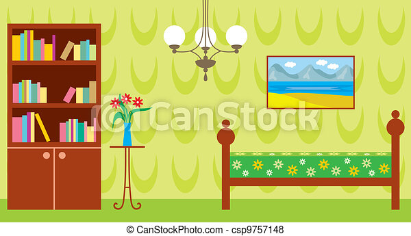 Living room - csp9757148