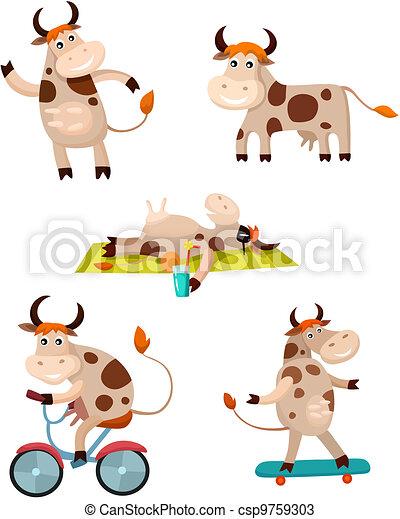 cow set - csp9759303