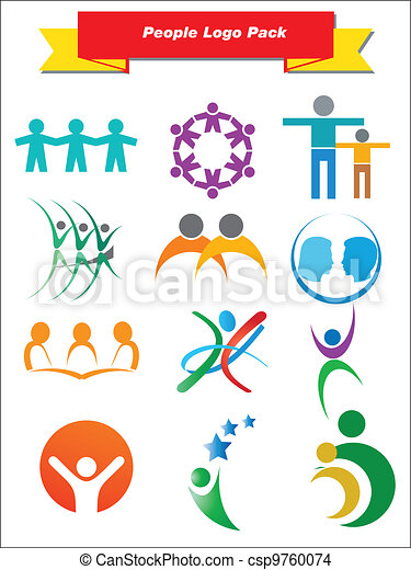 People Logo Pack - csp9760074